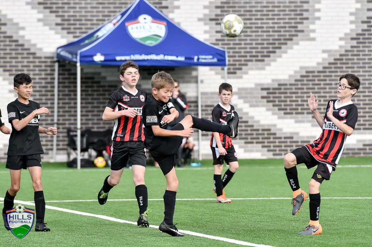 rousehill rangers boys playing soccer