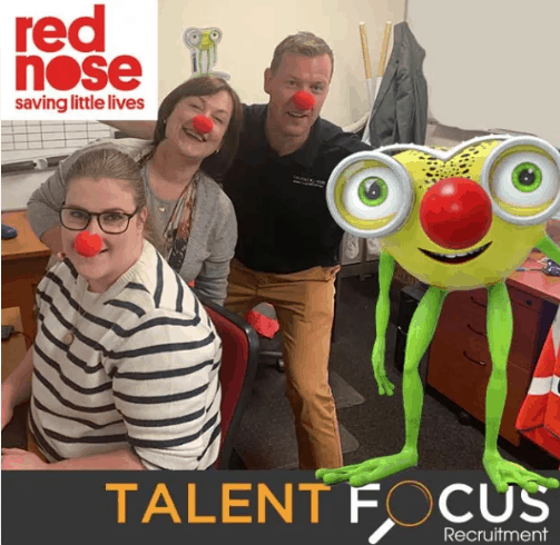 Red Nose Day at Talent Focus