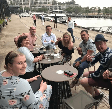 Christmas Party 2018 in Sydney Harbour